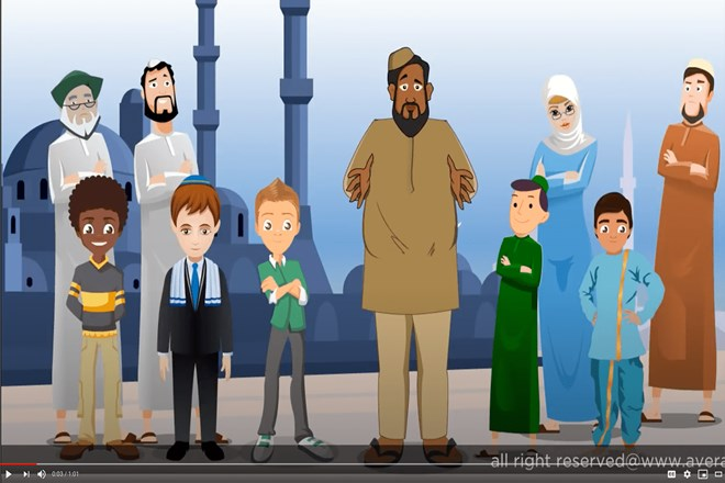"The Average Mohamed videos take their visual cues from South Park. Creator Mohamed Amin Ahmed contracts out the animation to India. ""You do everything that every American company has done: outsource,"" he said. Credit: Photo courtesy ""Average Mohamed"""