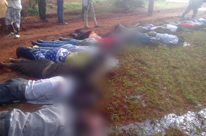 Al-Shabaab oo 28 Qof ku Dilay Gudaha Dalka Kenya.