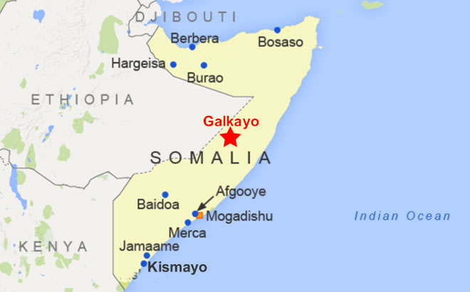Death Toll Up to 27 in Central Somalia Bombings