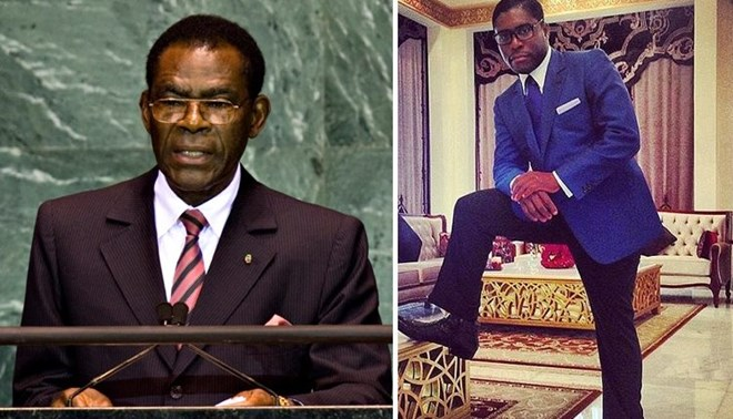 Equatorial Guinea's President Appoints His First Son 'Teodorin' as Vice President