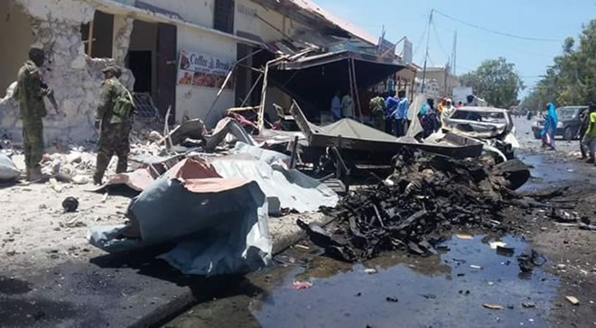 BREAKING: Car bomb attack targets Ministry of Internal Security