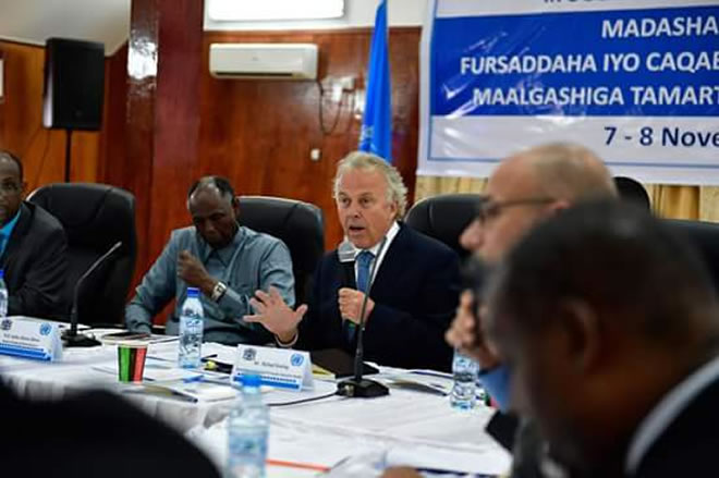 Somalia is drafting regulations to govern investment in