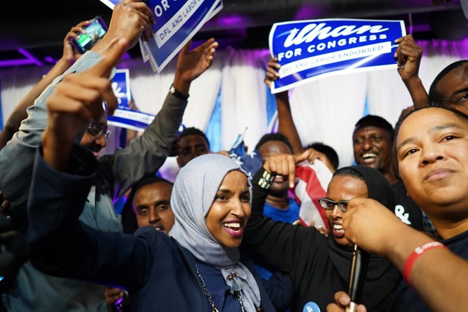 Ilhan Omar one step closer to Congress after clinching Democratic nod