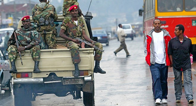On Monday, nearly 100 people were shot dead when Ethiopian security forces fired bullets at peaceful demonstrators in the Oromia and Amhara regions, according to advocacy group Amnesty International.