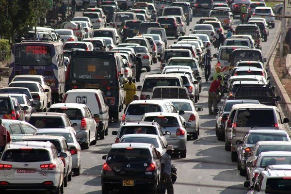 A traffic jam on University Way in Nairobi on March 3, 2017. Nairobi has been ranked the second-worst city in the world when it comes to traffic congestion. PHOTO | DENNIS ONSONGO | NATION MEDIA GROUP