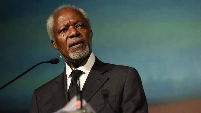 The world will fight climate change with or without the U.S. – Kofi Annan