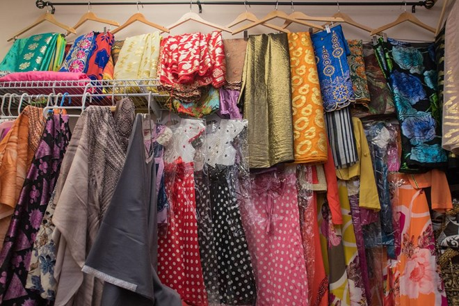 Women's clothing is on display and for sale at Brothers Restaurant and Grocery. Photo by Jackson Forderer